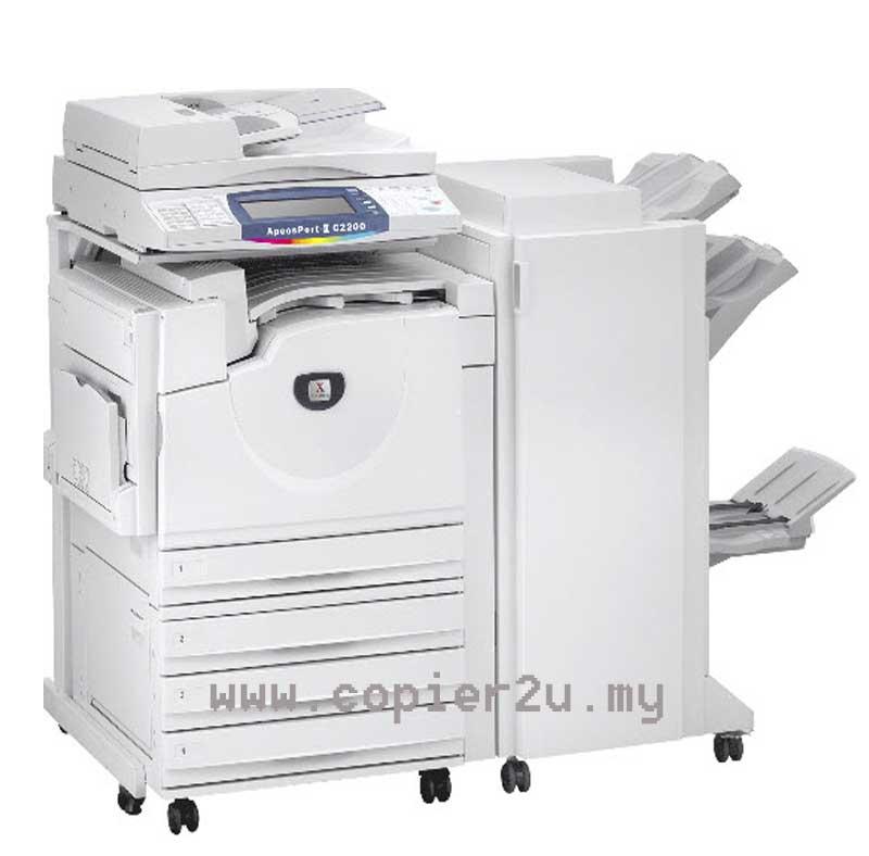 Fuji Xerox Apeosport-II C3300 Color Photocopier | fuji xerox